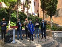 Ayuntamiento y Peñas Mateas hacen un emotivo homenaje a los fallecidos conquenses Mateos