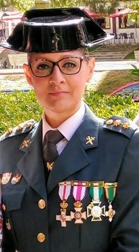 Una mujer al frente de la Comandancia de la Guardia Civil