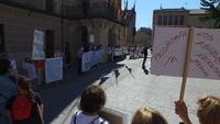 Protesta en defensa de la Sanidad en Carbonero