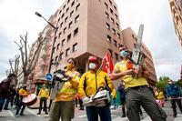 Los trabajadores de Geacam exigen un convenio digno