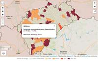 Declarados siete brotes en cuatro municipios de Segovia
