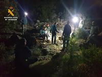 El rescate del espeleólogo en Riópar duró casi 20 horas