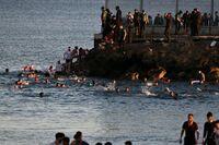 El 'caos' en Ceuta, de cerca con la navarra Carmen Echarri