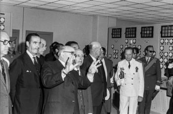 El día que Franco inauguró la 'Atómica'