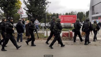 Al menos 8 muertos en un tiroteo en una universidad de Rusia