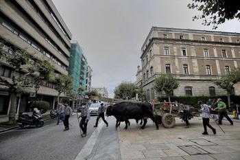 Santa Águeda estrena su nueva cubierta y conserva la antigua