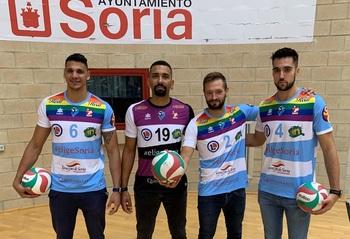 El Río Duero luce la bandera LGTBI en su nueva camiseta