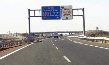 El Ministerio aparca el proyecto de la A-43 por Ciudad Real