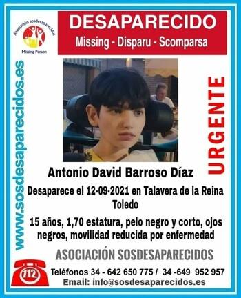Buscan en el extrarradio de Madrid al menor desaparecido