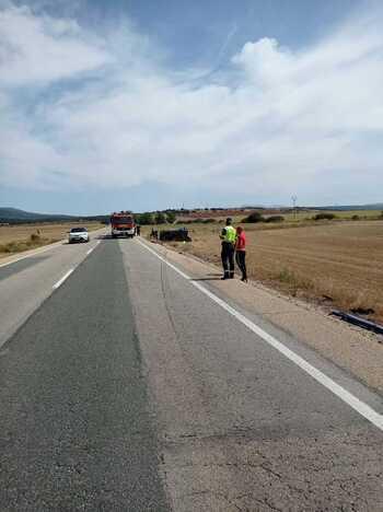 Fallecen dos personas en un accidente de tráfico en Soria