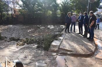 La Diputación dará dos millones de euros a ayudas por lluvia