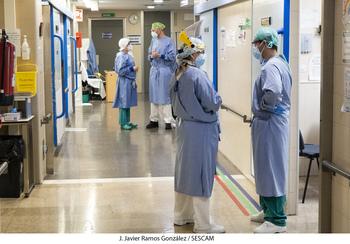 Nuevo descenso en el número de hospitalizados por Covid-19