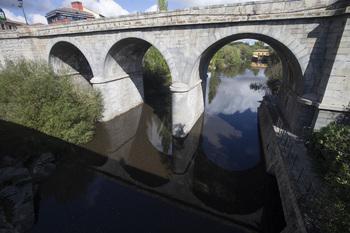 Las cenizas en el Adaja no afectan a la calidad del agua