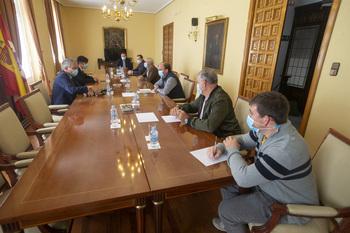Compromiso con los afectados por el fuego de Navalacruz