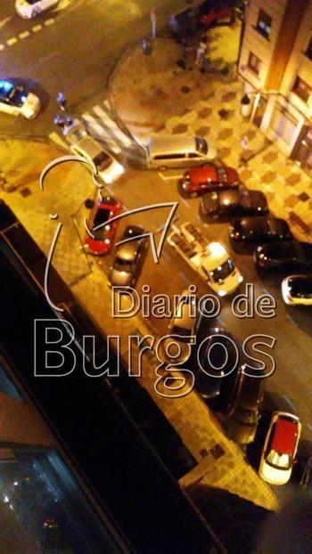 Espectacular persecución por el centro de Burgos