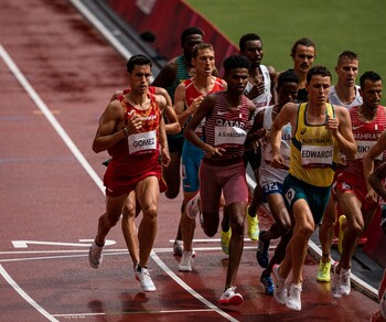 Jesús Gómez, a semifinales del 1.500