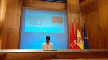 Navarra fija el techo de gasto más alto de su historia