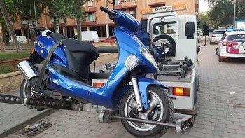 La Policía Local recuperó un ciclomotor robado