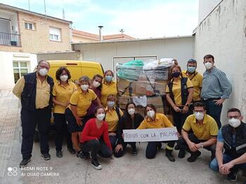 Correos agradece la solidaridad de Tarancón con La Palma