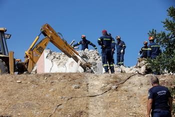 Un muerto por el terremoto de magnitud 5,8 en la isla de Creta