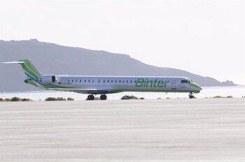 Nueva promoción para volar entre Pamplona y Canarias