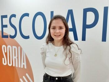 Alumna de Escolapios,  Premio Extraordinario de Bachillerato