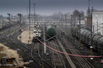 Villafría ya pierde frecuencias de tren por el parón chino