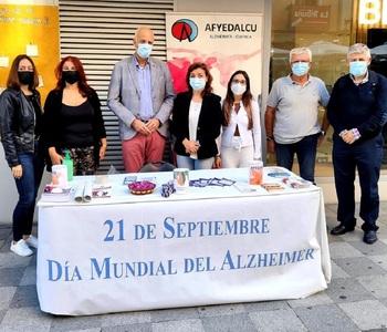 Afyedalcu celebra el Día Mundial del Alzheimer