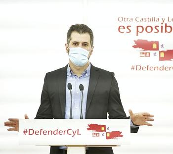 Tudanca, sobre Cosidó: Mañueco está soltando lastre