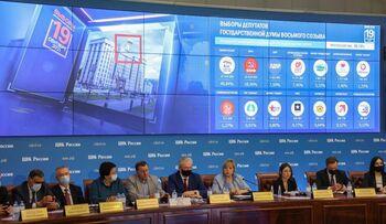Moscú descarta recontar los votos electrónicos para la Duma