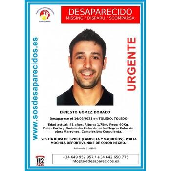 Buscan a un hombre de 41 años desaparecido en Toledo