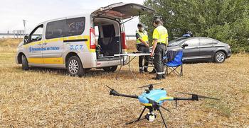 El dron caza a seis conductores saltándose un stop