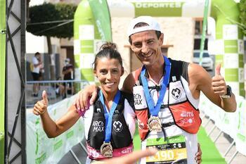 Gemma Arenas y Agustín Luján compiten en Asturias