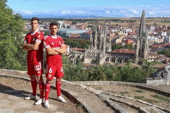El Burgos CF estrenará en Ibiza su nueva equipación roja