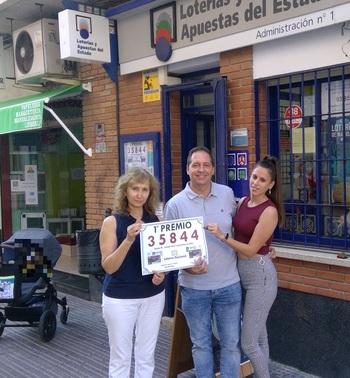 La Lotería Nacional deja un pellizco en Miguelturra