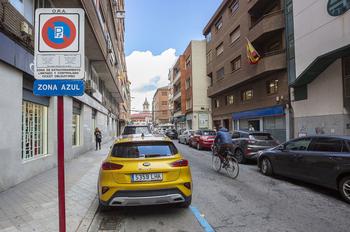Movilidad reubicará 76 'plazas azules' por peatonalizaciones