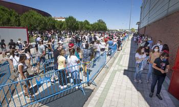 Campos Góticos cierra con 95.000 personas vacunadas