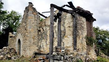 Hispania Nostra mete la iglesia de Ovilla en su Lista Roja