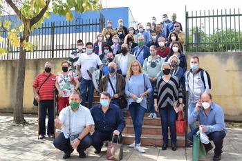 Guadalajara acogió a 50 belenistas de toda España
