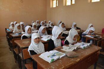 Los talibanes reemplazan el Ministerio de la Mujer