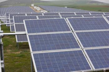 A información pública los parques fotovoltaicos de la Bureba