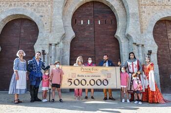 'Puy du Fou' alcanza con Sofía el medio millón de visitas