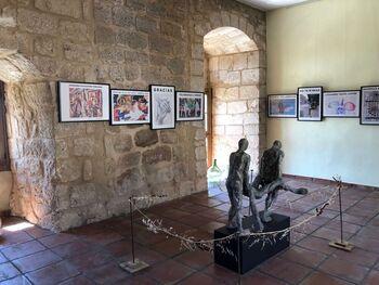 Monteagudo recibe el apoyo de Junta y Diputación