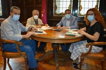 La Diputación mantiene su colaboración con los pensionistas