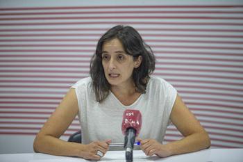 Leticia Sánchez participa en el Consejo de Alcaldes del PSOE