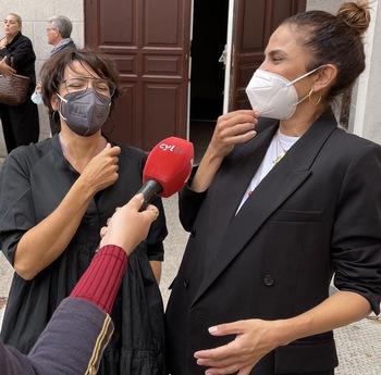 Toni Acosta y Silvia Abril con público entregado