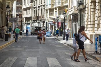 Un total de cuatro empresas aspiran a peatonalizar el centro