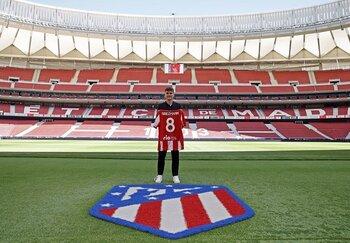 Griezmann: En el Atlético soy feliz dentro y fuera del campo