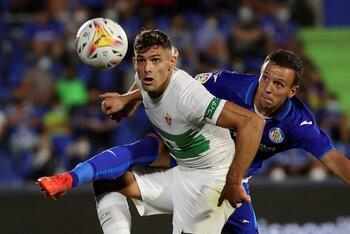 Lucas Pérez deja tocado al Getafe