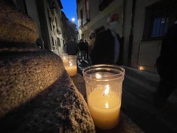 La 'Noche del Patrimonio' luce con velas